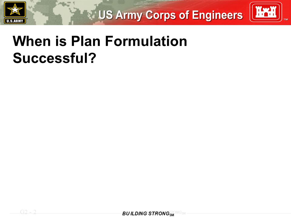 When is Plan Formulation Successful