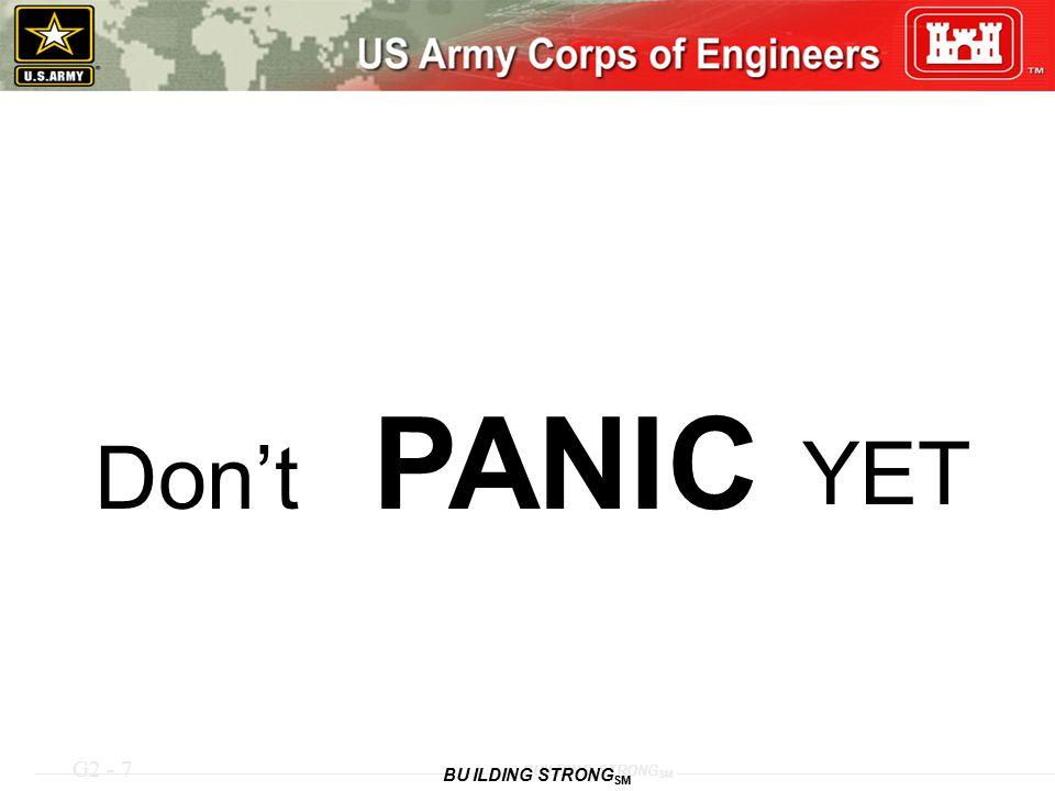 Don't PANIC YET