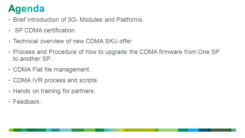 Agenda Brief Introduction of 3G- Modules and Platforms.