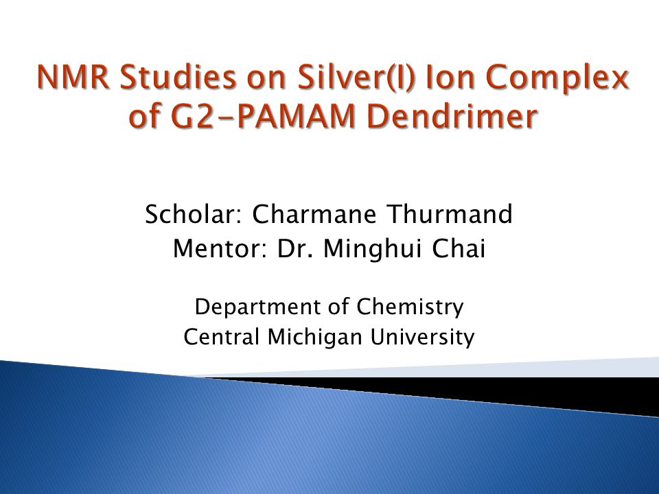NMR Studies on Silver(I) Ion Complex of G2-PAMAM Dendrimer