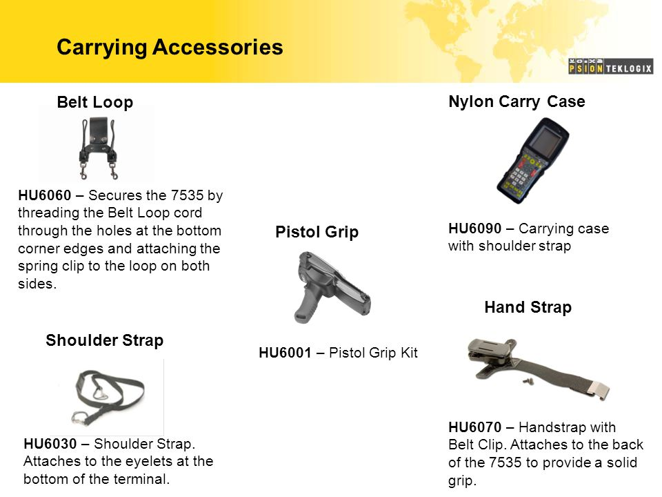 Carrying Accessories Belt Loop Nylon Carry Case Pistol Grip Hand Strap