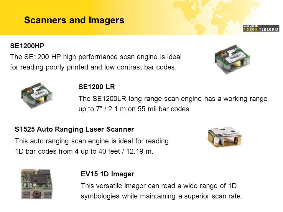 Scanners and Imagers SE1200HP