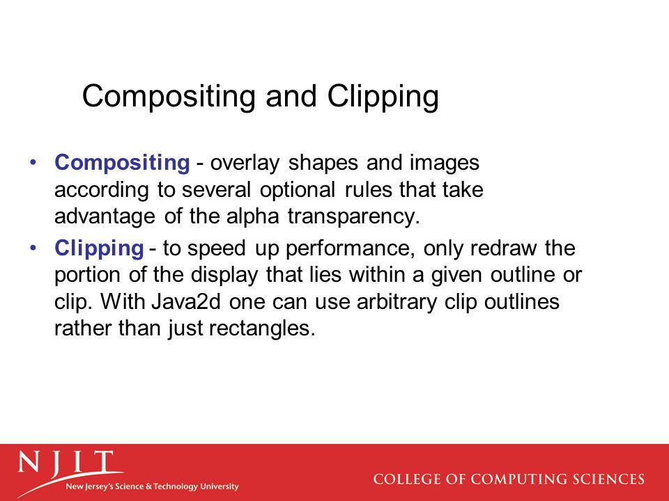 Compositing and Clipping
