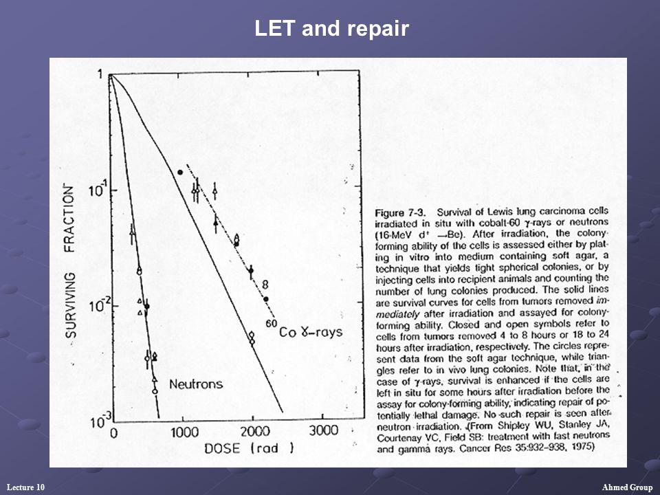 LET and repair