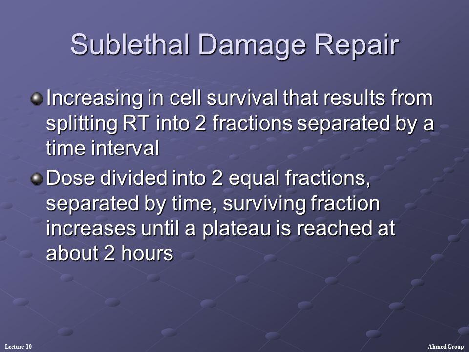 Sublethal Damage Repair