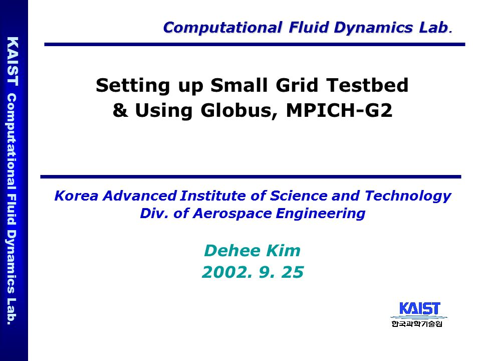 Setting up Small Grid Testbed