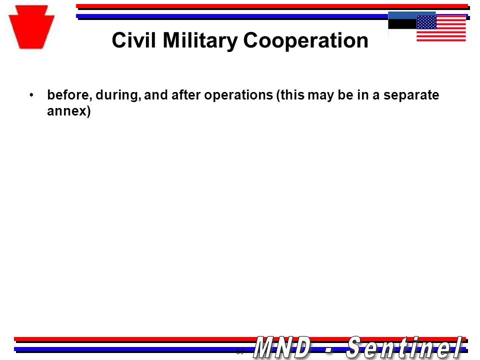 Civil Military Cooperation