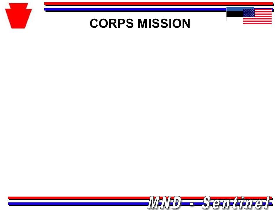 CORPS MISSION