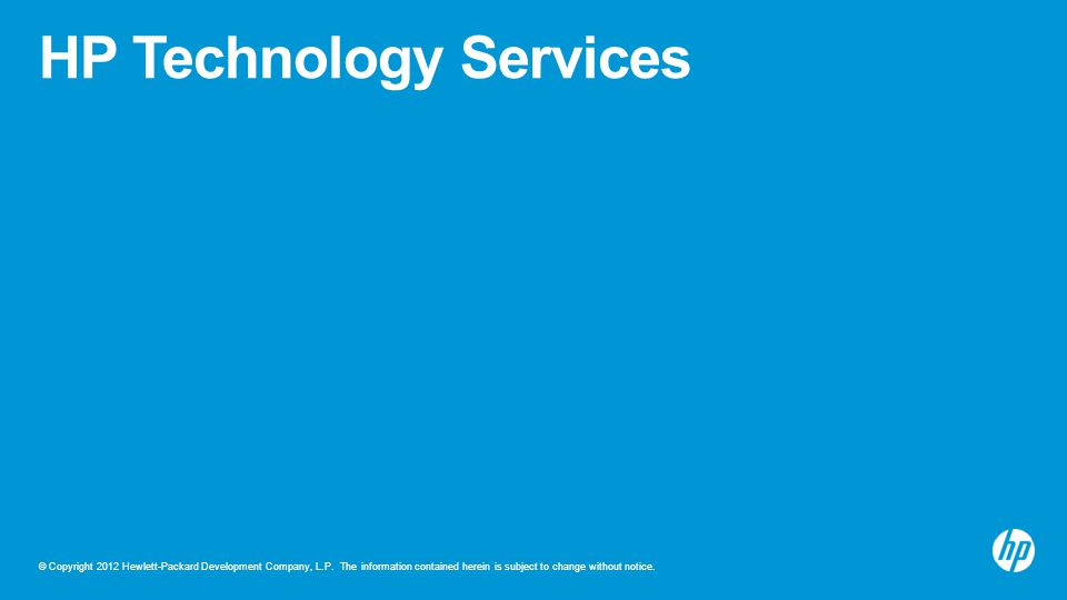 HP Technology Services