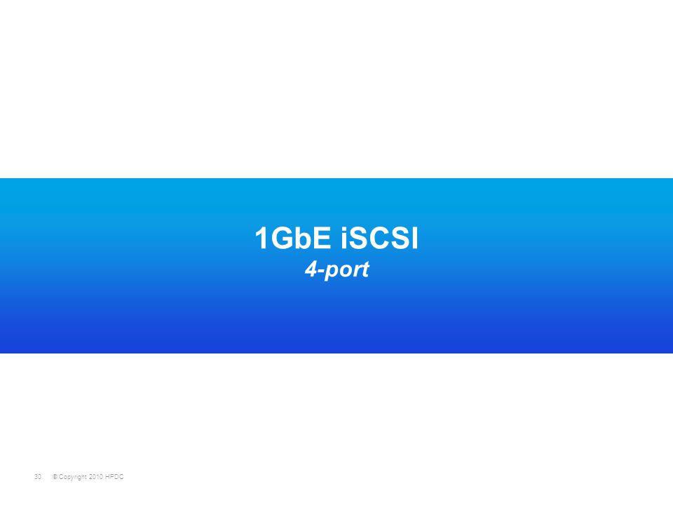 1GbE iSCSI 4-port