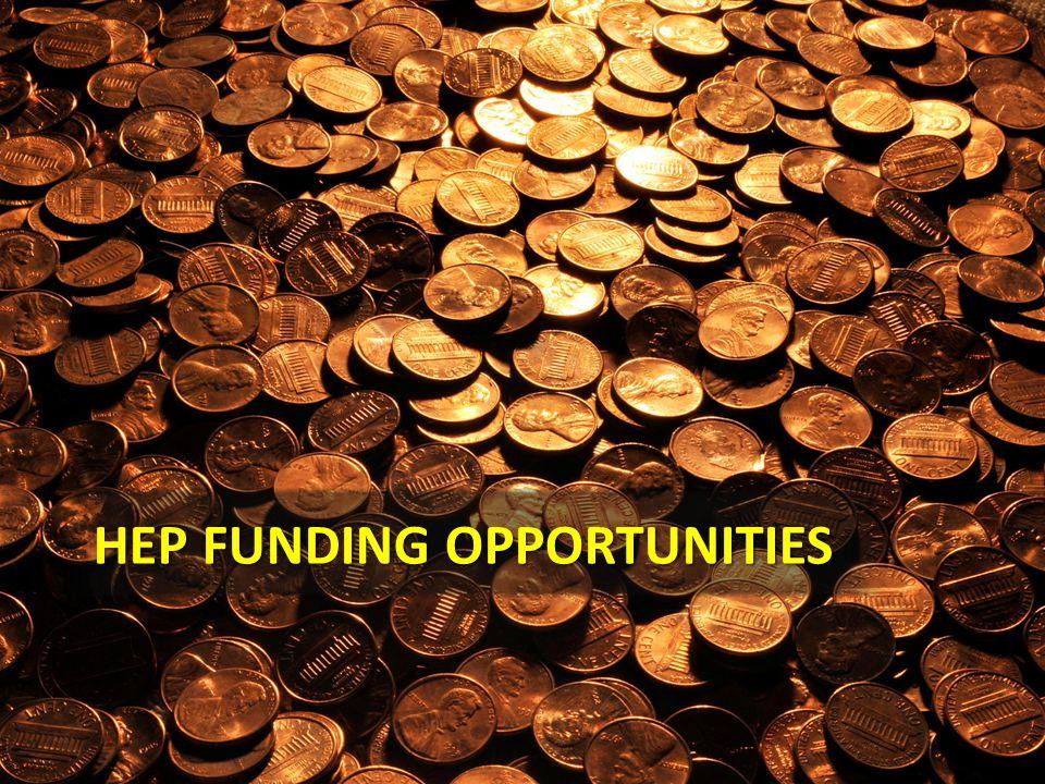 HEP Funding Opportunities