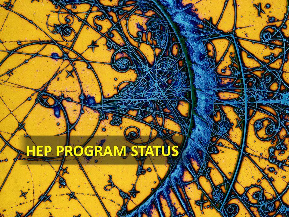 HEP Program Status