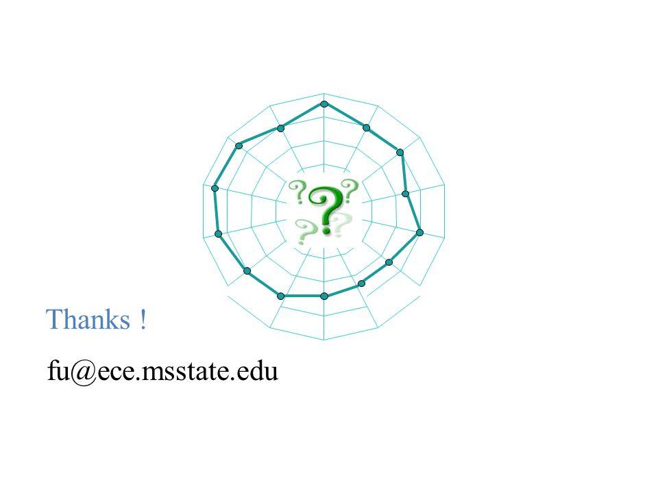 Thanks ! fu@ece.msstate.edu