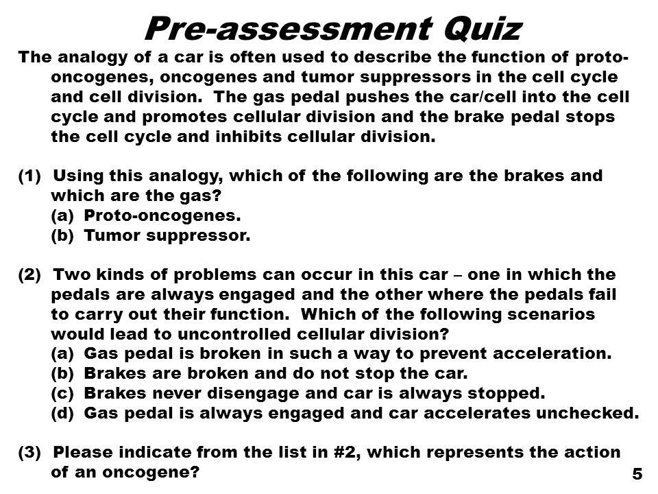 Pre-assessment Quiz