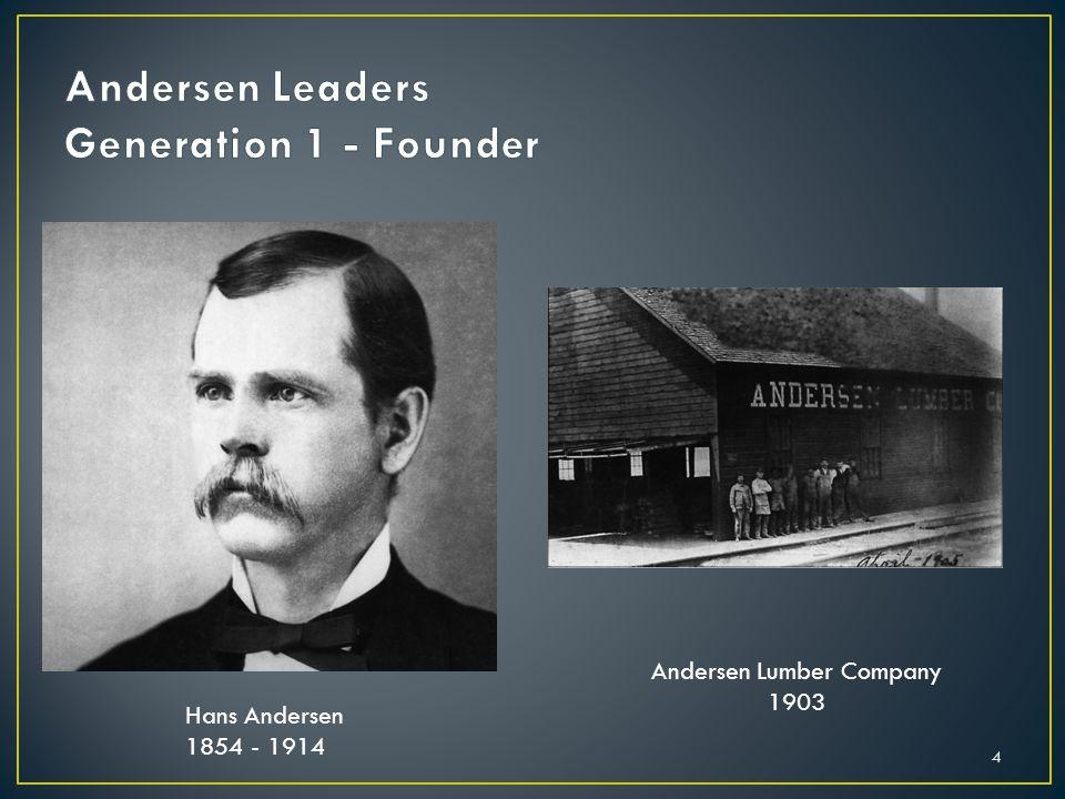 Andersen Leaders Generation 1 - Founder