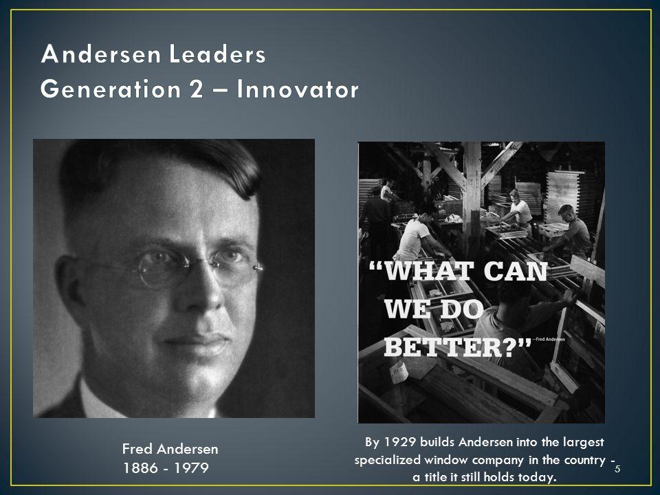 Andersen Leaders Generation 2 – Innovator