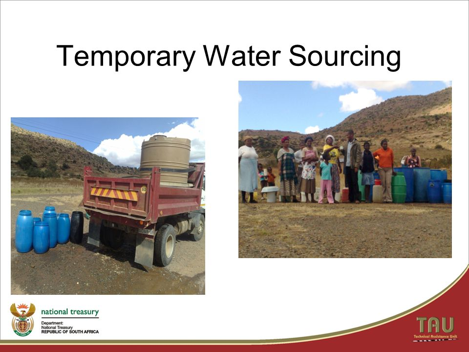 Temporary Water Sourcing