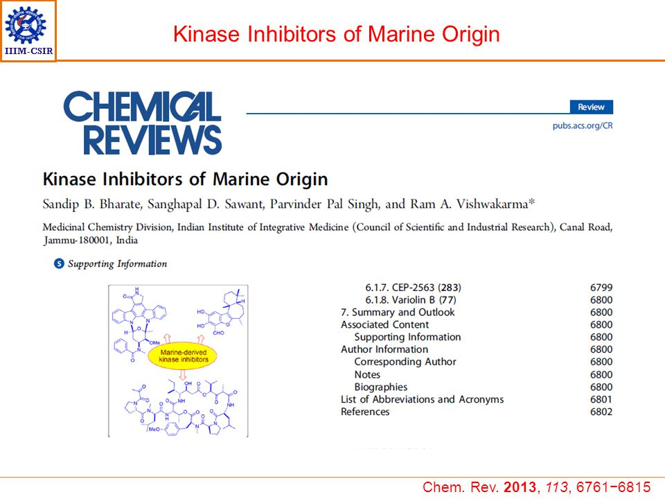 Kinase Inhibitors of Marine Origin