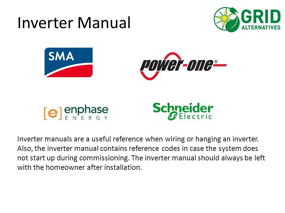 Inverter Manual
