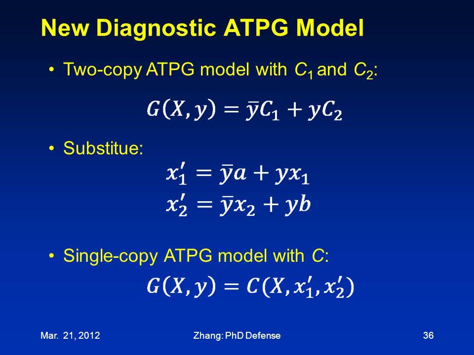 New Diagnostic ATPG Model