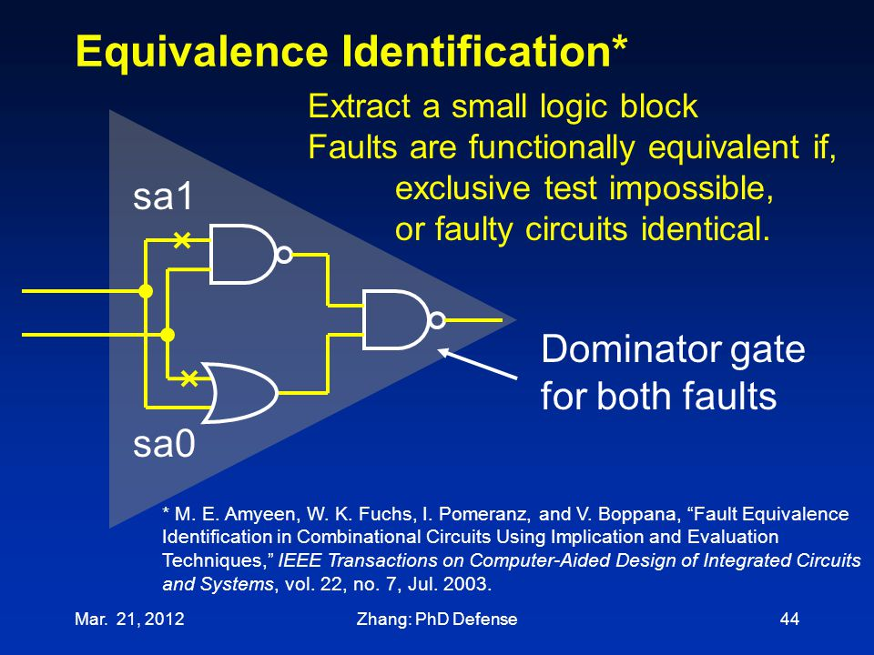 Equivalence Identification*