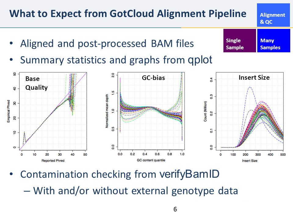 What to Expect from GotCloud Alignment Pipeline