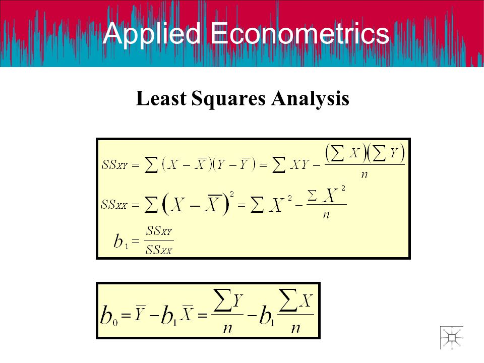 Least Squares Analysis