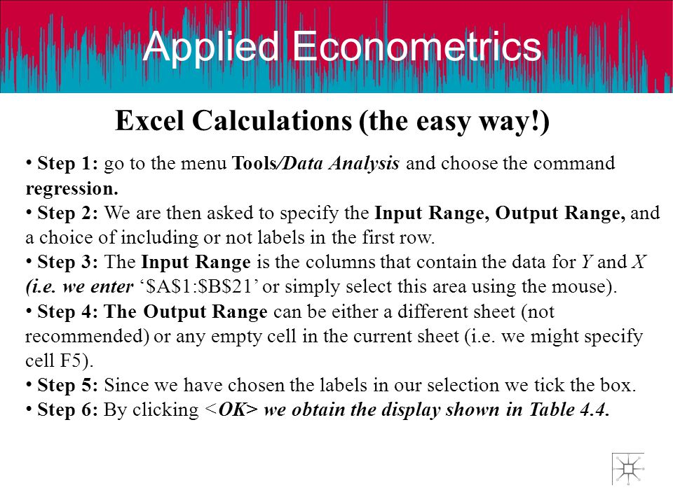 Excel Calculations (the easy way!)