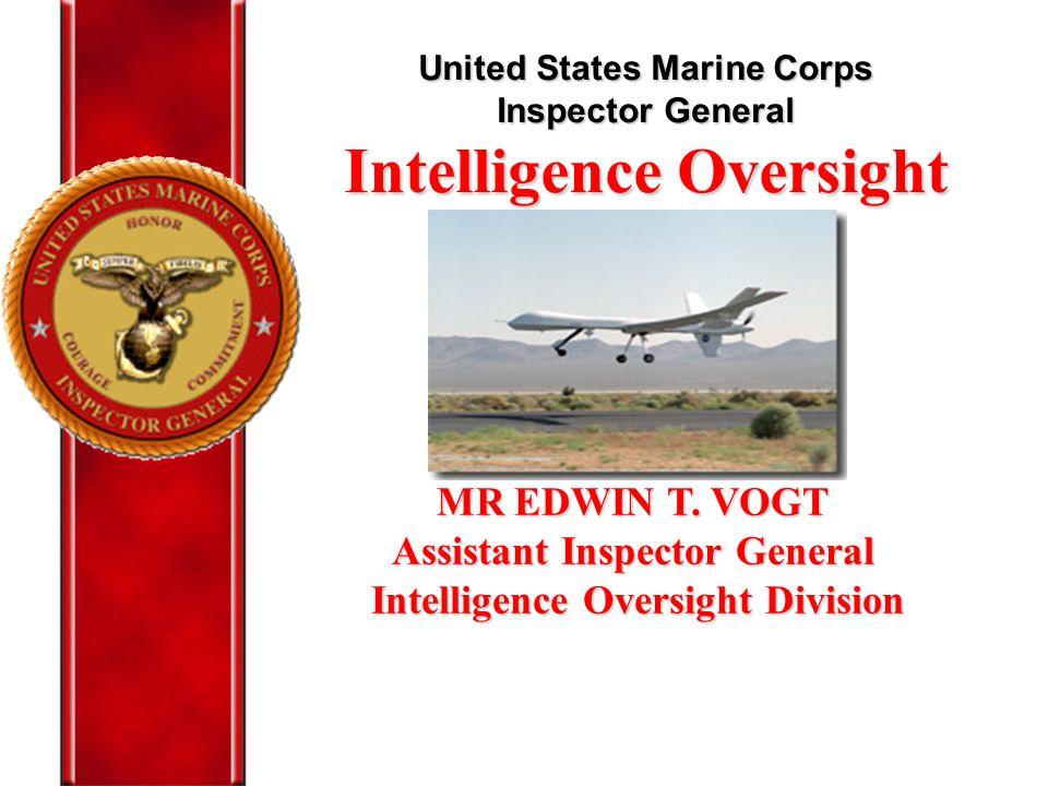 Intelligence Oversight