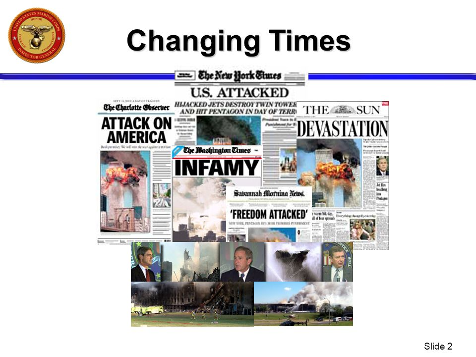 Changing Times