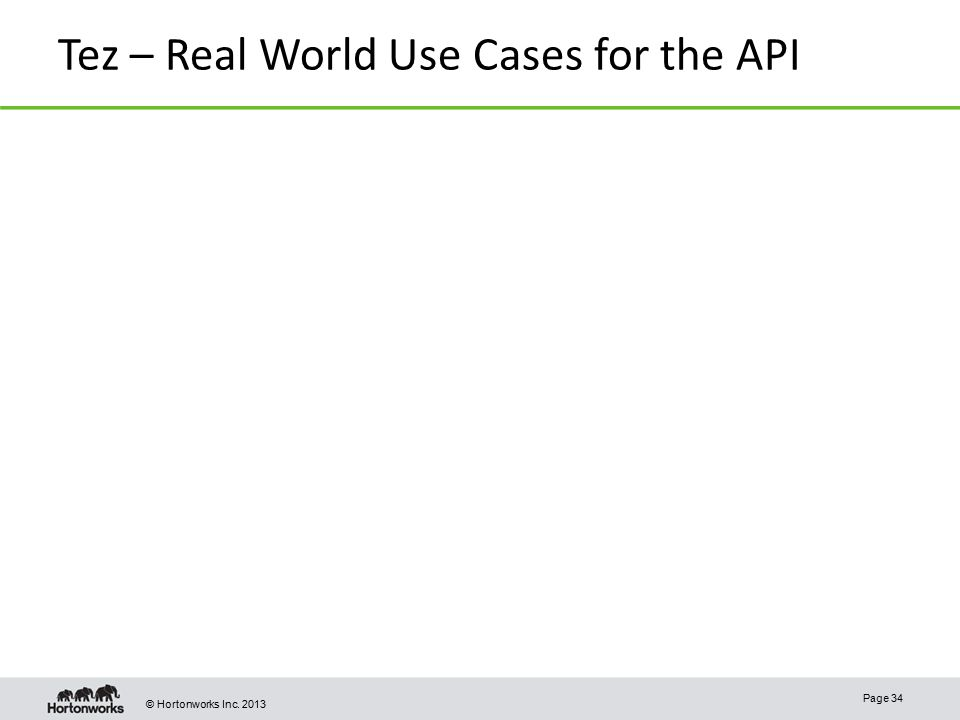 Tez – Real World Use Cases for the API