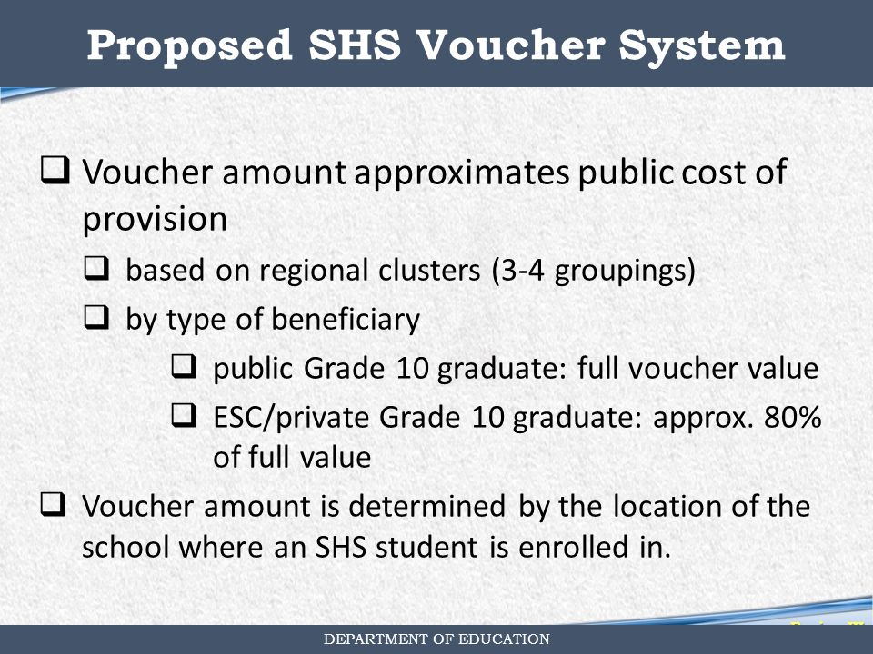 "an analysis of the school voucher system How does school choice work in other countries of the chilean voucher system were based only on school-level or ""how does school choice work in other."