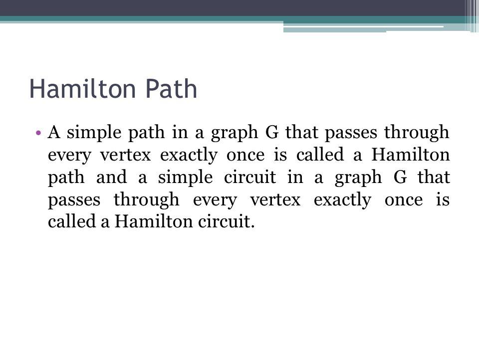 Hamilton Path