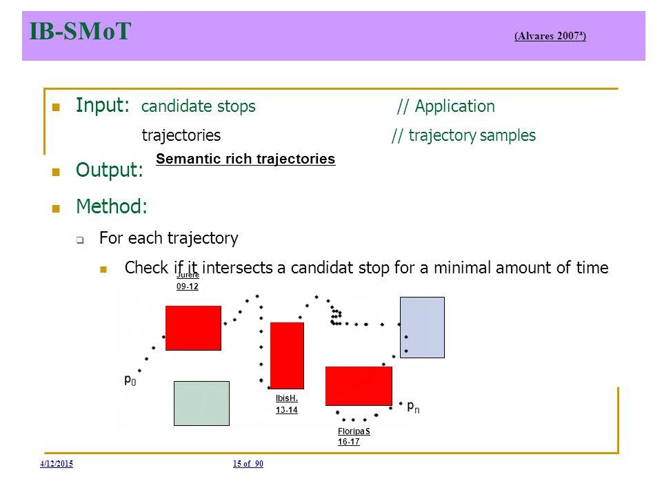 IB-SMoT Semantic rich trajectories