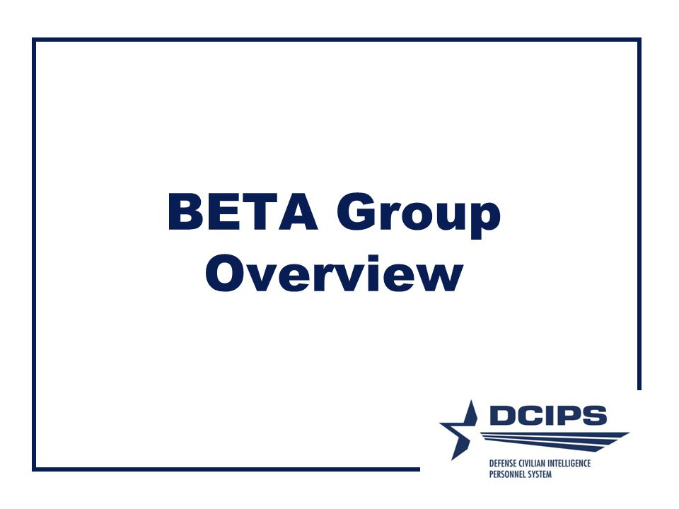 BETA Group Overview