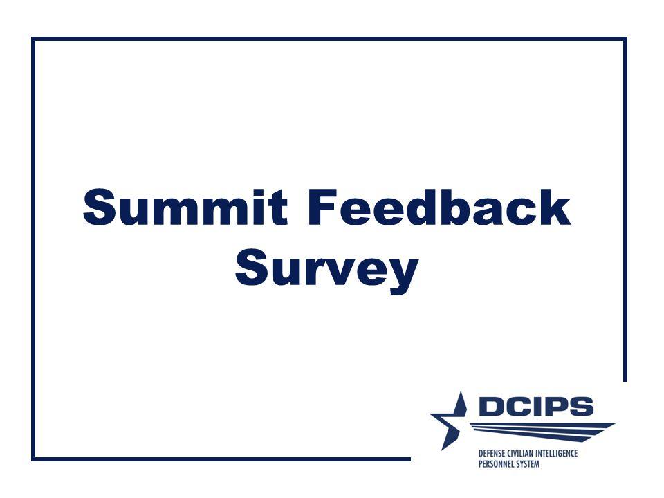 Summit Feedback Survey