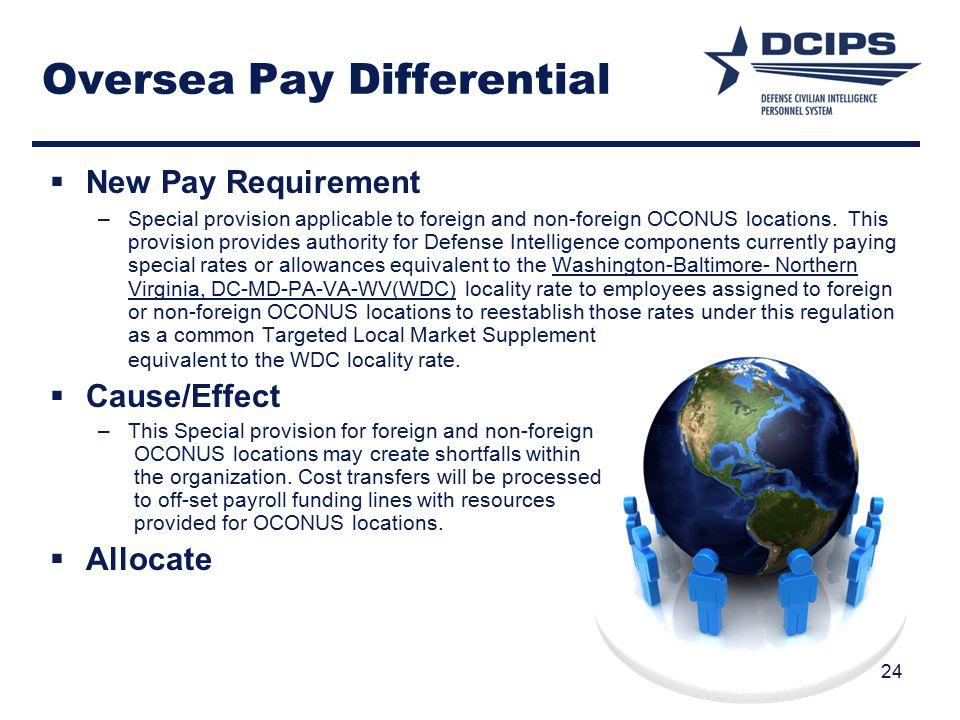 Oversea Pay Differential