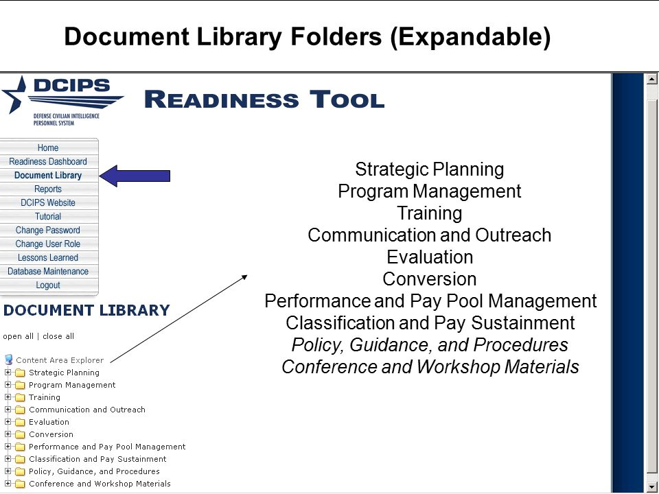 Document Library Folders (Expandable)