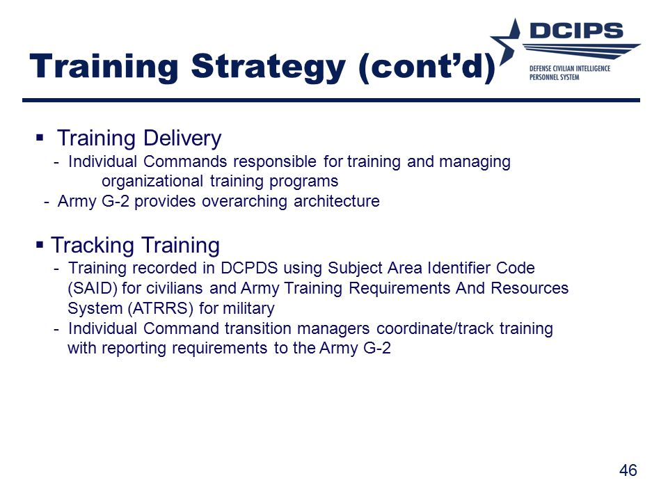 Training Strategy (cont'd)