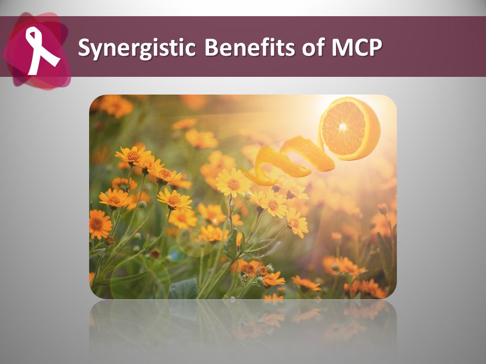 Synergistic Benefits of MCP