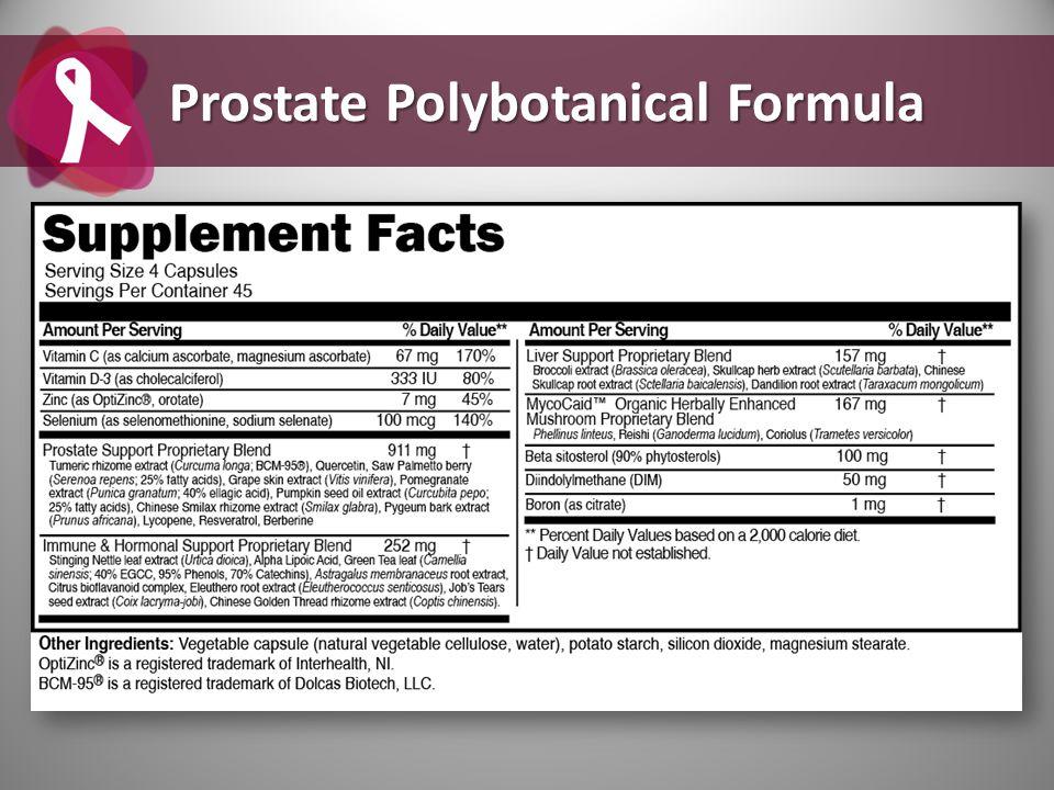 Prostate Polybotanical Formula