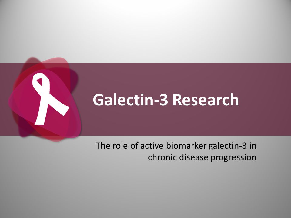 The role of active biomarker galectin-3 in chronic disease progression