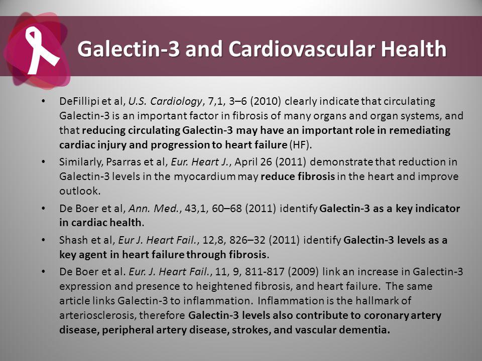Galectin-3 and Cardiovascular Health