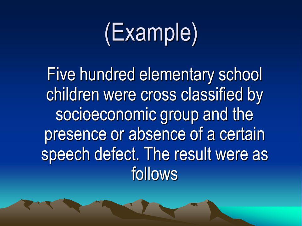 (Example)