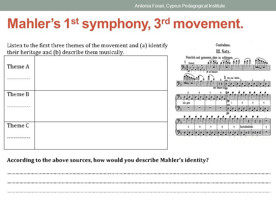 Mahler's 1st symphony, 3rd movement.