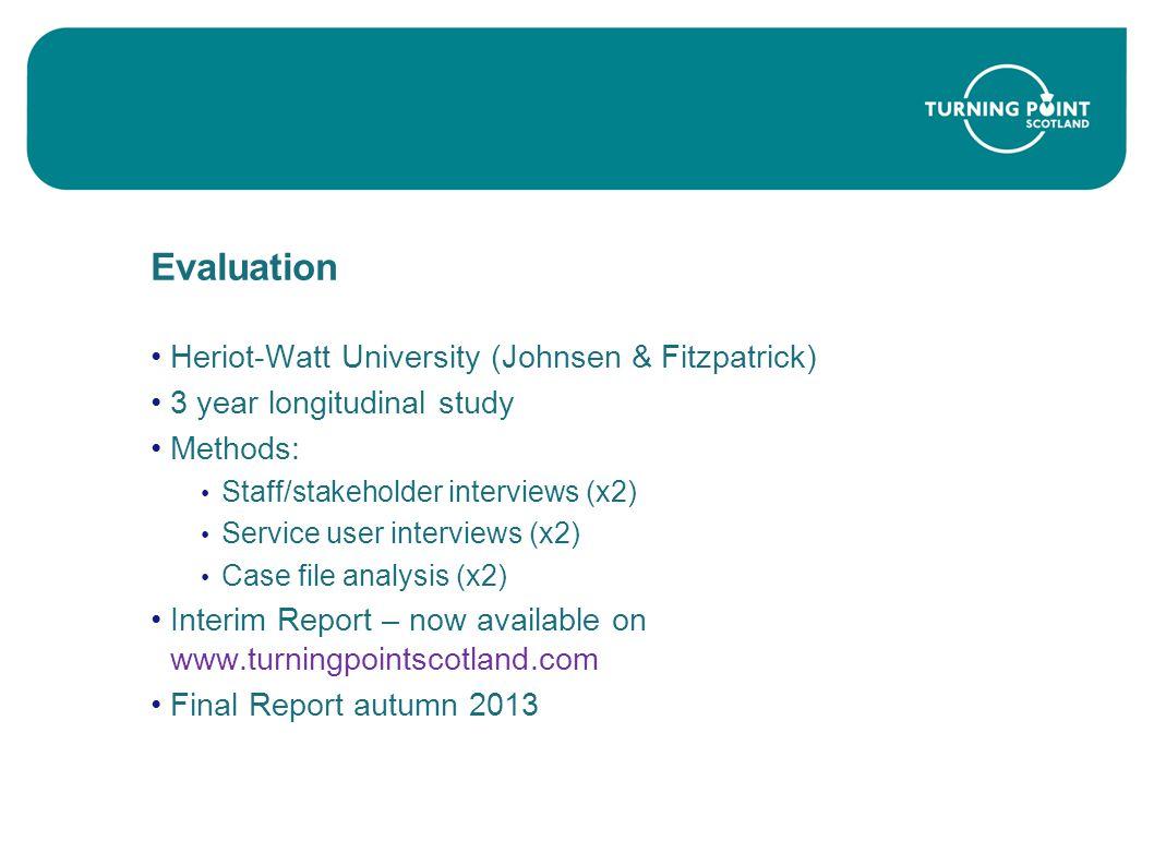 Evaluation Heriot-Watt University (Johnsen & Fitzpatrick)
