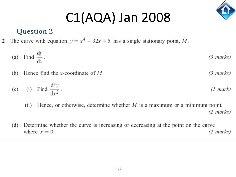 C1(AQA) Jan 2008 Question 2