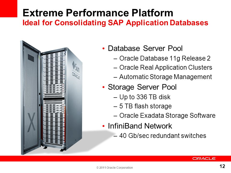 Extreme Performance Platform Ideal for Consolidating SAP Application Databases