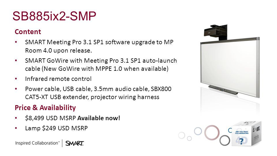 SB885ix2-SMP Content Price & Availability