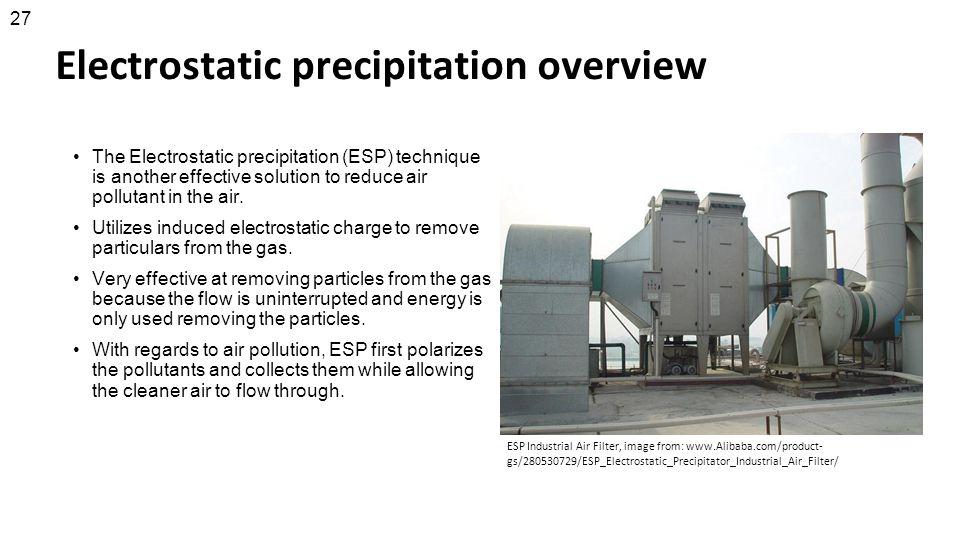 Electrostatic precipitation overview